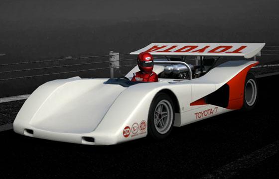 gran turismo 5 voiture toyota 7 race car 39 70. Black Bedroom Furniture Sets. Home Design Ideas