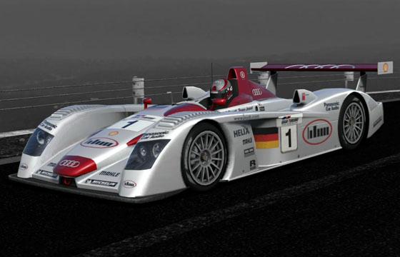 Gran Turismo Détails Audi R Race Car Site Du GTclub - Audi r8 race car 01 gt6