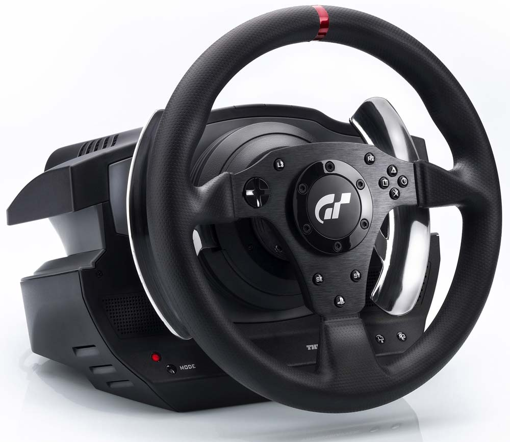 matos thrustmaster t500rs le test gt club le site sur gran turismo. Black Bedroom Furniture Sets. Home Design Ideas