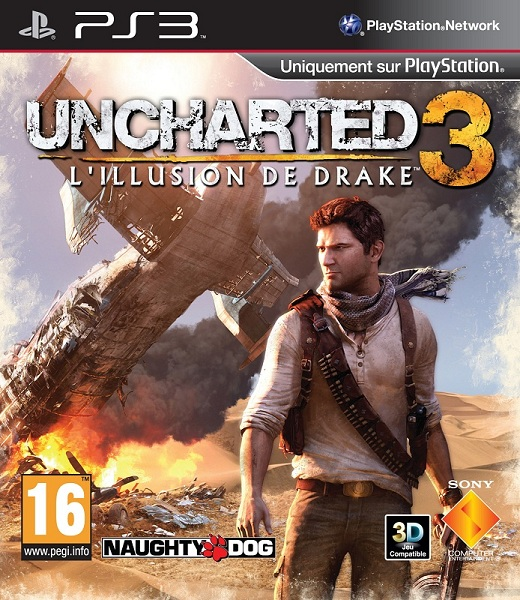 Pochette Uncharted 3 PS3